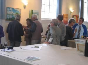 Impressie expositie Waterlandkerkje, Zeeland